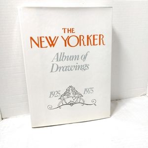 Coffeetable Book New Yorker Album of Drawings 1975